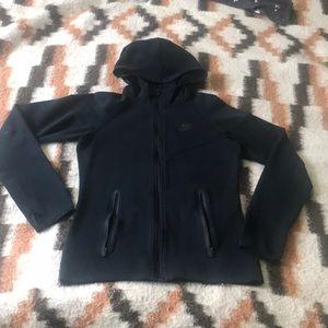 Nike Black ZipUp hoodie